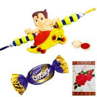Kids Rakhi with Chocolates<br /><font color=#0000FF>Free Delivery in USA</font> to Rakhi_to_usa.asp