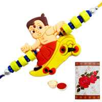 1 Kids Rakhi with Roli Tika<br /><font color=#0000FF>Free Delivery in USA</font> to Serch_price_usa.asp