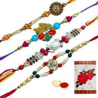 4 Designer Rakhi<br><font color=#0000FF>Free Delivery in USA</font> to Serch_price_usa.asp