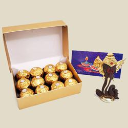 Toothsome Ferrero Rocher with Moulded Ganesha to Diwali_usa.asp