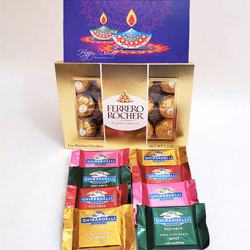 Wholesome Chocolate Delight Gift Combo to Diwali_usa.asp