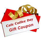 CAFE COFFEE DAY gift coupon Worth Rs. 750/- to Chandigarh