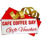 CAFE COFFEE DAY gift coupon Worth Rs. 1000 /- to Guwahati