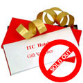 ITC Gift Cards for 2 People Worth Rs.1500 to Gurgaon