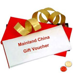 Mainland China Gift Vouchers Worth Rs.2000 with free Roli Tilak and Chawal to Cochin