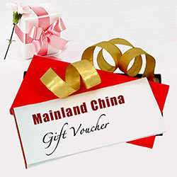 Mainland China Gift voucher Worth Rs. 1000 /-(Only in cities with Mainland China Restaurant. )<br>Please place order ONE day in advance. to Baddi
