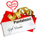 Pantaloons  Gift Vouchers  to India