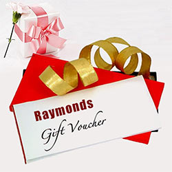 Excellent Raymonds Gift Voucher worth Rs. 1000 to Guwahati