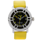 Timex Analog Helix Drifter Watch in Black and Yellow to Bhavani
