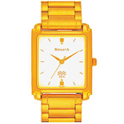 Fantastic Sonata Gents Watch with a Classy Golden Touch to Noida