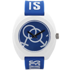 Spectacular Watch from Titan Fastrack in White and Blue Colour to Baddi
