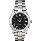 Delightful brushed with polished stainless steel bracelet timepiece for men from Tissot to Bantwal