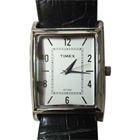 Timex Presents Elegant Silver Coloured Rectangular Dialed Gents Watch to Ludhiana