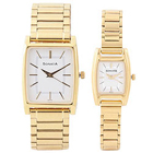 Stunning Golden Pair Watches from Titan Sonata to Trichy