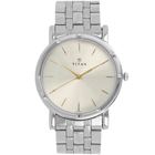 Elegant Analog Gents Wrist Watch in Silver presented By Titan to Bangalore