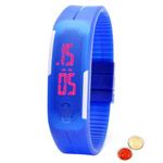 Superb Waterproof LED Digital Unisex Watch with free Roli Tilak and Chawal to Ahmadnagar