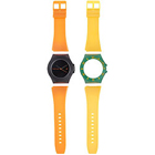 Suave Analog Black Dial Unisex Watch from Fastrack to Gurgaon