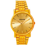 Majestic Golden Coloured Gents Sonata Watch from Titan to Bellary