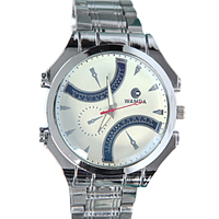 Exquisite Gift of Fashionable Silver Wrist Watch for Men to Noida
