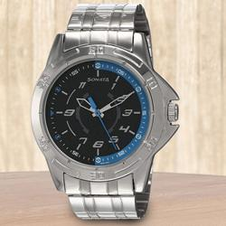 Wonderful Sonata Analog Mens Watch to Ahmedgarh