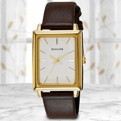 Marvelous Sonata Analog Mens Watch to Adugodi