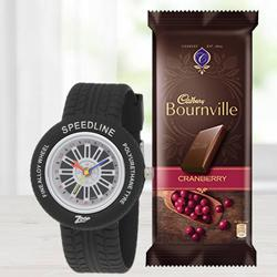 Amazing Zoop Analog Watch N Cadbury Bournville to Allahabad