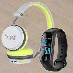Remarkable Smart Watch N Boat On-Ear Headphone to Adugodi