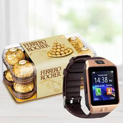 Wonderful Smart Watch N Ferrero Rocher to Ahmedgarh