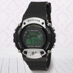 Admirable Sonata Super Fibre Digital Mens Watch to Abohar