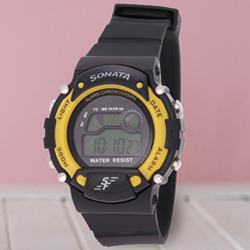 Exclusive Sonata Super Fibre Digital Mens Watch to Adugodi