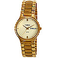 Magnificent round dial golden chain strap formal watch for gents from Timex to Gurgaon