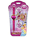 Disney Princess Heart Heart Shaped LCD watch with Flip top for girl Kids to Faridkot