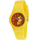 Titan Zoop Presents Beautiful Animal Printed Yellow Coloured Kids Watch to Baraut