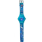 Titan Zoop Brings Attractive Oceanic Printed Blue Coloured Watch for Kids to Badgam