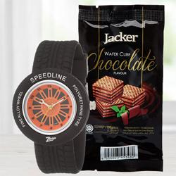 Amazing Zoop Analog Watch N Jacker Wafer Cube to Allahabad