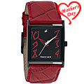 Stylish Red Partywear Watch from Titan Fastrack for Ladies to Hyderabad