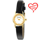 Casual watch in golden and black combination for ladies from Titan Sonata to Dinahata