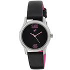 Scintillating Black Dial Fastrack Watch for Ladies to Bhubaneswar