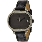Stylish Analog Black Dial Titan Fastrack Watch for Ladies to Amlapara