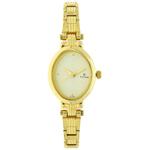 Exquisite Titan Ladies Watch in Golden Colour to Guwahati
