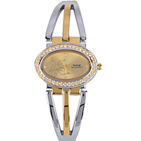 Captivating Golden Dial Fashion Wrist Watch for Ladies to Alapuzha