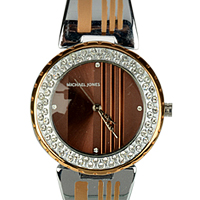 Exclusive Big Dial Metal Wrist Watch for Women to Barauipur