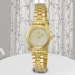 Exclusive Titan Analog Womens Watch to Aleppy