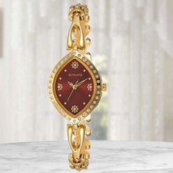 Remarkable Sonata Analog Womens Watch to Ahmedgarh