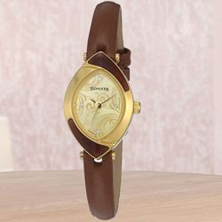 Outstanding Sonata Analog Womens Watch to Akola