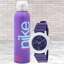 Amazing Sonata Analog Womens Watch N Nike Deo to Alapuzha