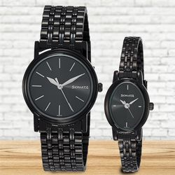 Exclusive Sonata Analog Unisex Watch to Adugodi