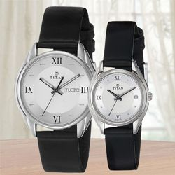 Marvelous Titan Bandhan Analog Couple Watch to Abohar