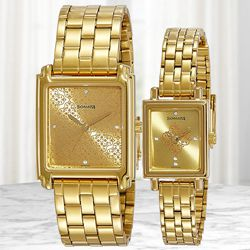 Remarkable Sonata Analog Couple Watch to Allahabad