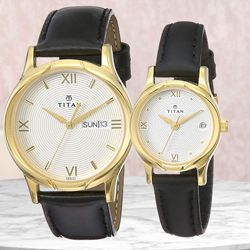 Remarkable Titan Bandhan Analog Couple Watch to Abohar